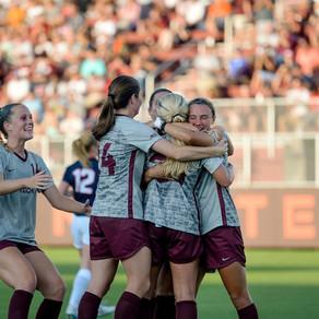 No. 25 Virginia Tech Women's Soccer Defeats Liberty 3-0