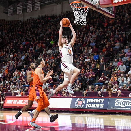 Hokies Snap Four-Game Losing Streak on Senior Night