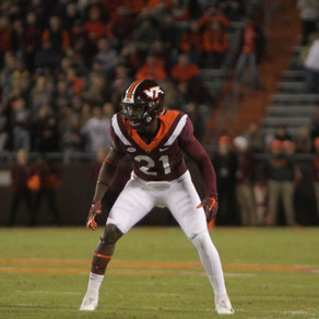 Reggie Floyd to Receive #1 Jersey as Part of New Virginia Tech Football Tradition