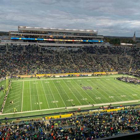 Virginia Tech falls at No. 16 Notre Dame