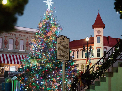 Everything HOLIDAYS in Newberry: Part 2!
