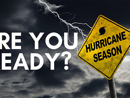 Hurricane Season - Think Ahead of Time