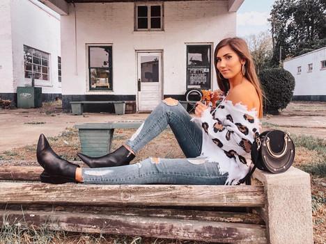 Falling into Style with Fashionista Sydney Mitcham
