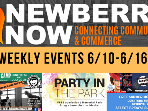 Be In the Now! This weeks 6/10-6/16 events!