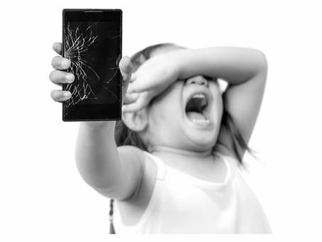 Tragic or Funny- Broken Phone