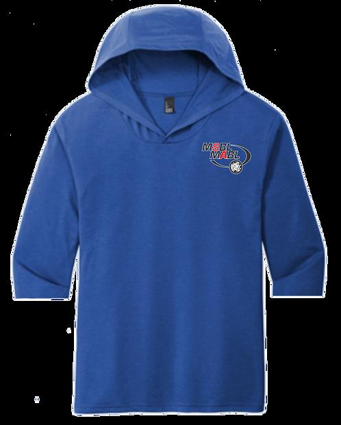 MSBL 1/2 Sleeve Tri-Blend Tee shirt Hoodie