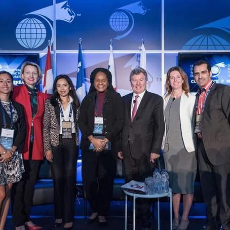 Panéliste au Forum Economique International des Amériques, à Montréal