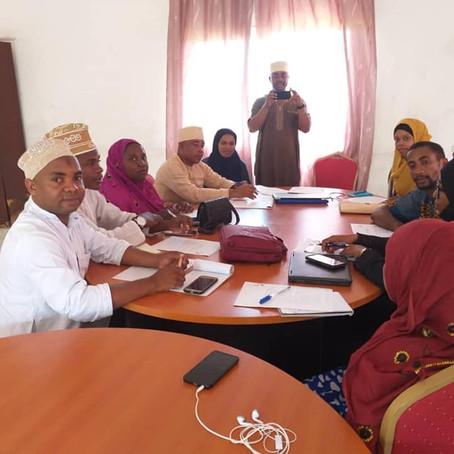 Préparation du Mois de l'Histoire des Noirs aux Comores