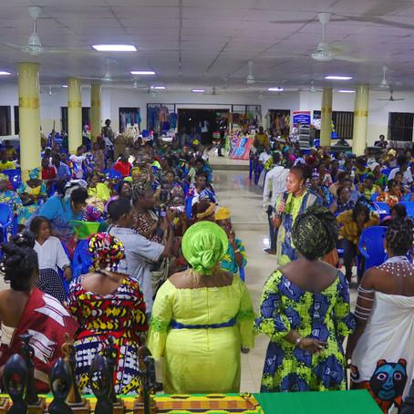 Soirée finale du Mois de l'Histoire des Noirs au Bénin avec le Gala des Femmes Noires Inspirantes