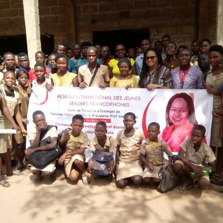 Echange avec les jeunes béninois à Glo-Djigbé