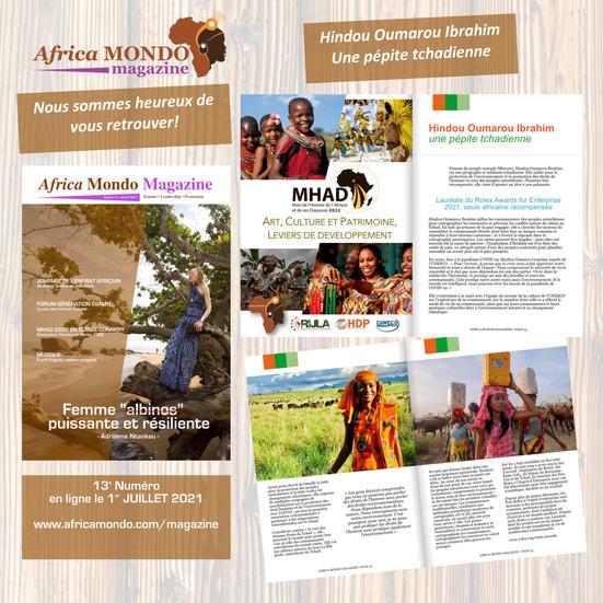 AFRICA MONDO MAGAINE