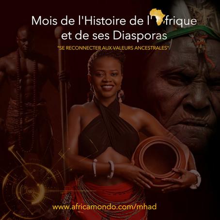 J-3 du lancement du Mois de l'Histoire de l'Afrique et de ses Diasporas