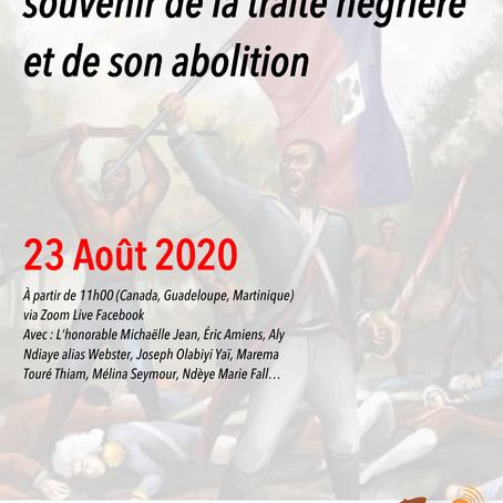 Africa Mondo célèbre la journée du souvenir de la traite négrière et de son abolition
