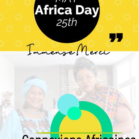 25 Mai, célébrons l'Afrique