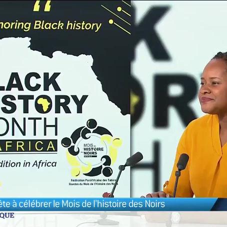 Mélina Seymour, invitée du JT Afrique de TV5 Monde