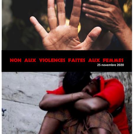 25 novembre, journée contre les violences faites aux femmes