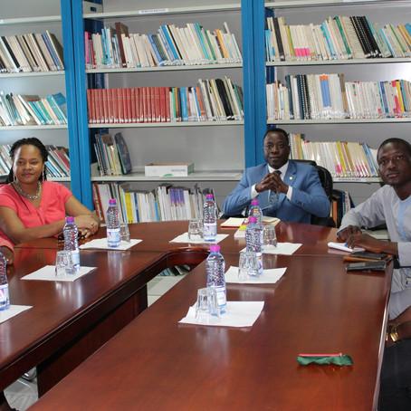 Rencontre à l'OIF, Bureau de Lomé, Togo