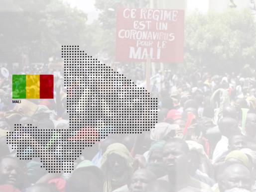 Le Mali sous tension, l'opposition dans la rue