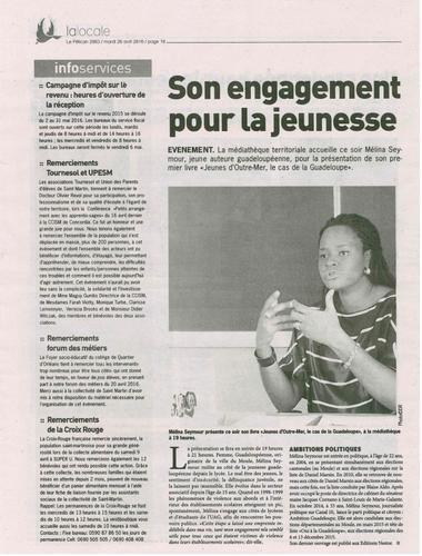 Article de presse de Saint-Martin