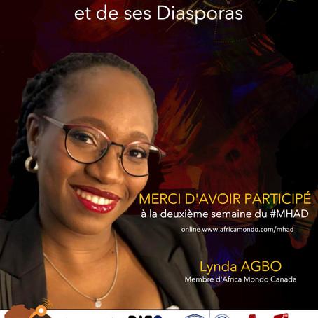 Le Mois de l'Histoire de l'Afrique et de ses Diasporas poursuit ses activités en ligne