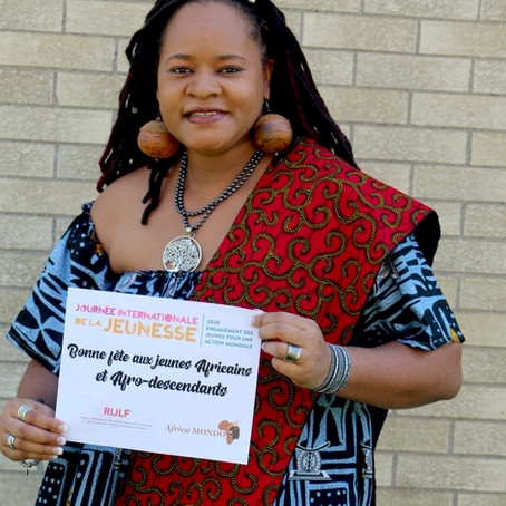 Le message de Mélina Seymour aux jeunes à l'occasion de la journée internationale de la jeunesse