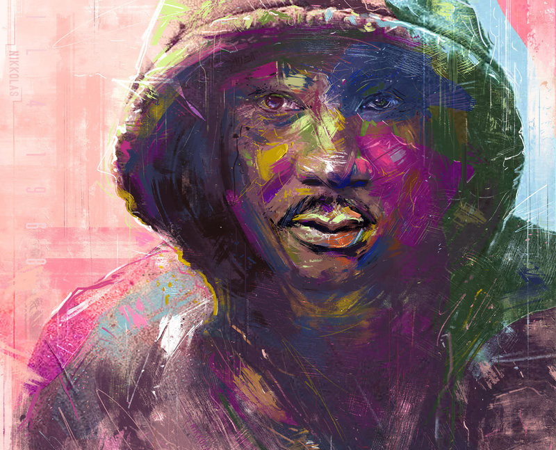 painting martin luther king