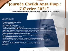 7 février, journée hommage à Cheikh Anta Diop