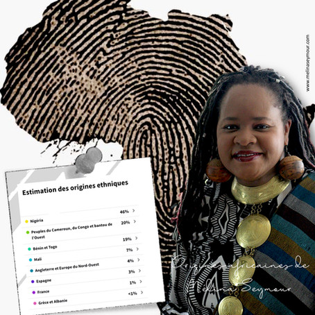 Mon test ADN pour découvrir mes origines africaines