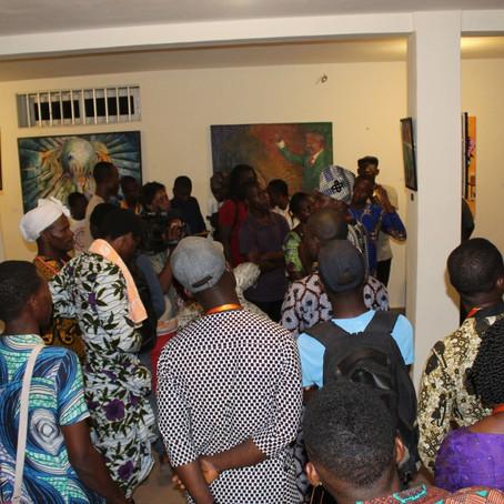 Vernissage de l'exposition contemporaine du Mois de l'Histoire des Noirs en République du Bénin