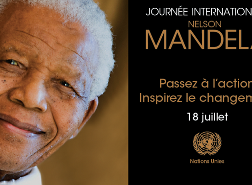 Journée internationale Nelson Mandela, le 18 juillet