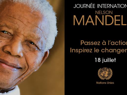 Journée internationale Nelson Mandela, le 18 juillet