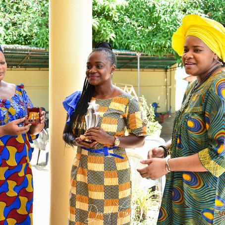 Remise de Trophées au Bénin
