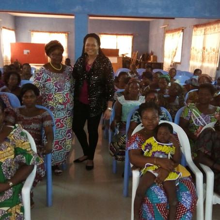 Conférence avec les femmes à Anéhò, Togo