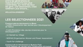 """Les huit associations sélectionnées au Challenge """"Présente-moi ton Asso"""" organisé par le RIJLA"""