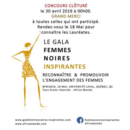 Concours Femmes Noires Inspirantes, édition 2019, clôturé