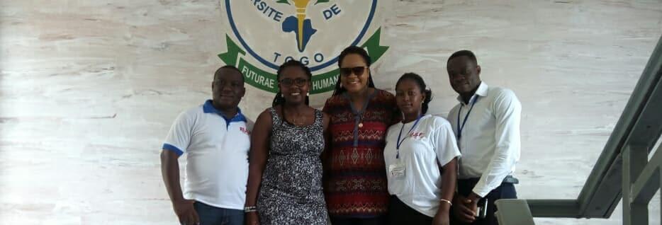 À la rencontre d'étudiants à Lomé (Togo)