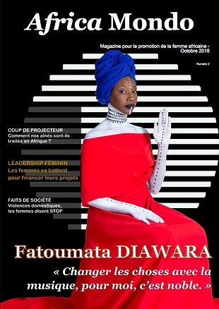 couverture africamondomagazine octobre