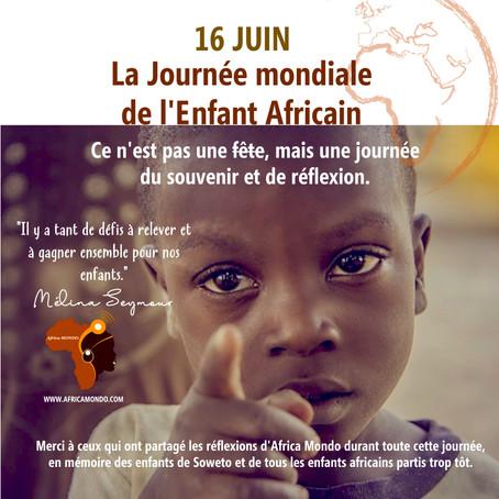 Africa Mondo commémore la Journée mondiale de l'enfant africain en 10 étapes.