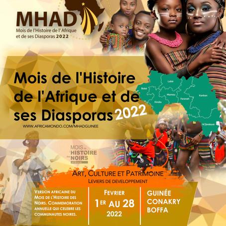 Mois de l'Histoire de l'Afrique en Guinée en février 2022
