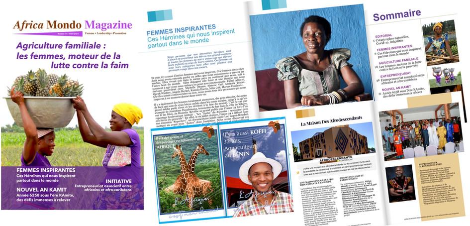 Africa Mondo Magazine, Numéro 14