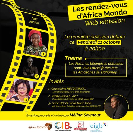 Les Rendez-Vous d'Africa Mondo, la Web émission