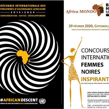 2e Édition du Concours International Femmes Noires Inspirantes, le 29 février 2020, à Cotonou