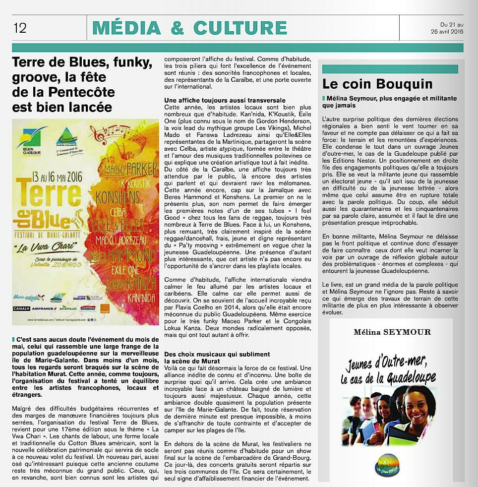 article livre melina seymour