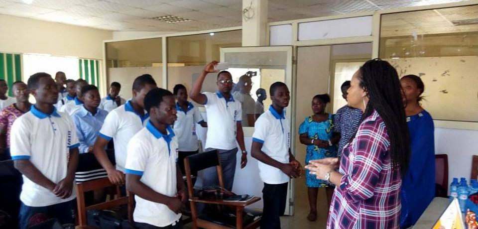 À la rencontre d'étudiants (Bénin)