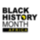 Logo Black History Month Africa