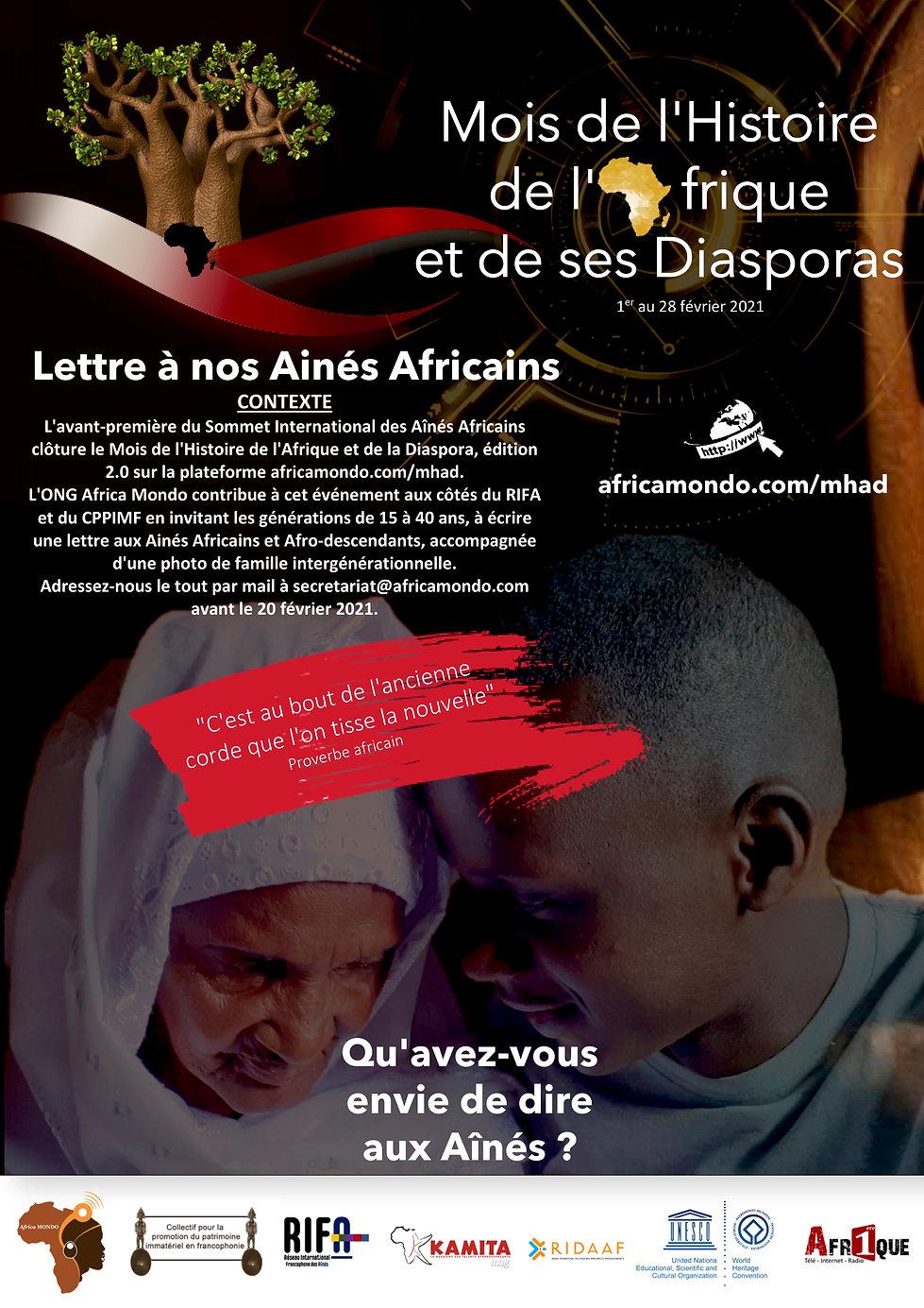 Sommet ainés africains et Diasporas