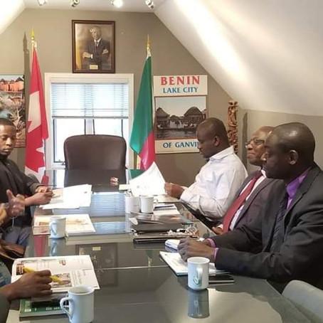 À la rencontre de l'Ambassadeur du Bénin à Ottawa
