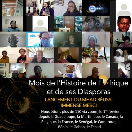 Lancement réussi du Mois de l'Histoire de l'Afrique et de ses Diasporas