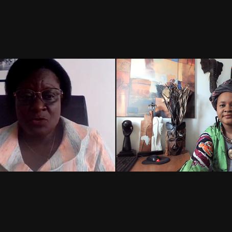 Séance de travail avec la Ministre de la Culture, des Arts et du Tourisme du Burkina Faso