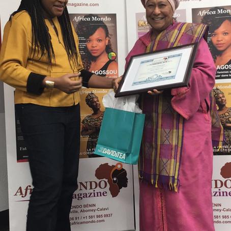 Reconnaissance: Africa Mondo célèbre une femme inspirante